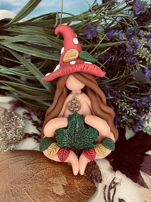Canadian Maple Leaf Mushroom Witch