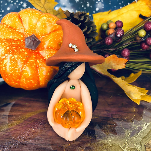 Helena Pumpkin Witch