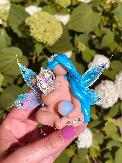 Mini Aura Opalite Sky Fairy Goddess
