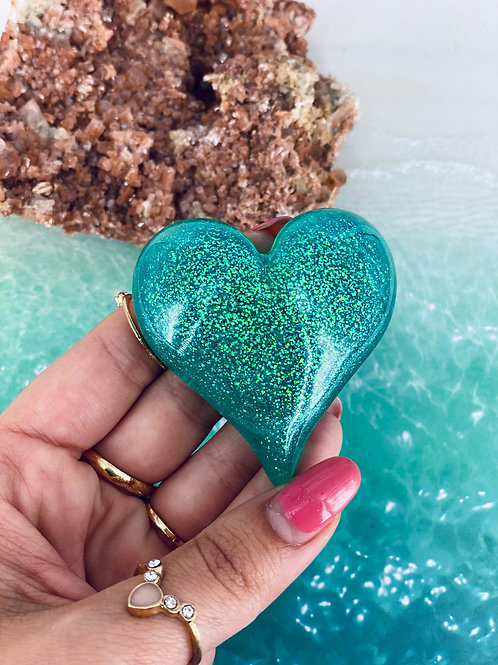 Turquoise Palm Heart