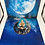 Thumbnail: Deep Blue Moon Goddess Coaster