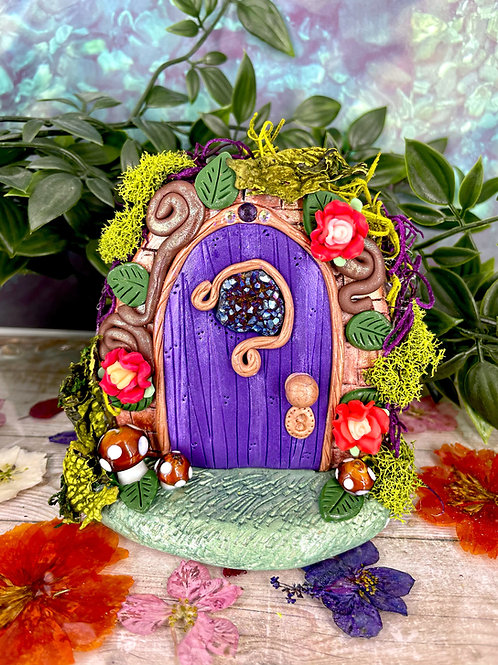 Amethyst Fairy Door