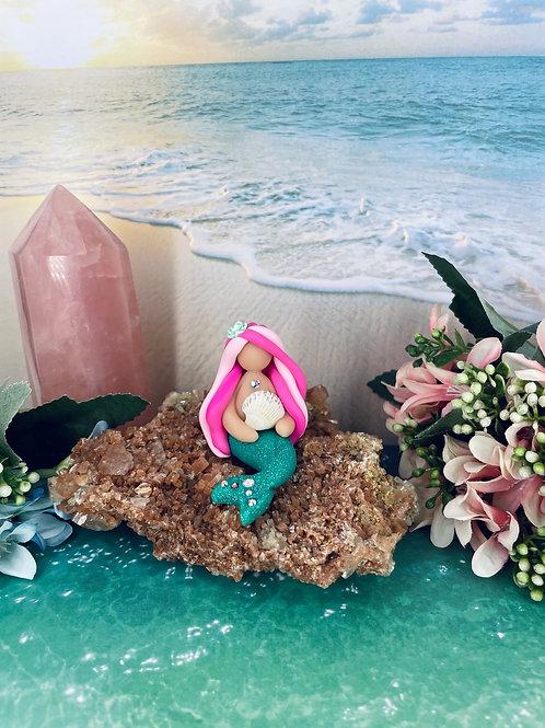 Sea Shell Mini Mermaid