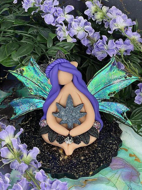 Cannabis Crystal Forest Fairy Elf