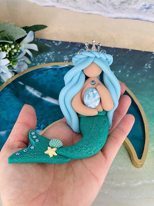 Larimar Crystal Mermaid