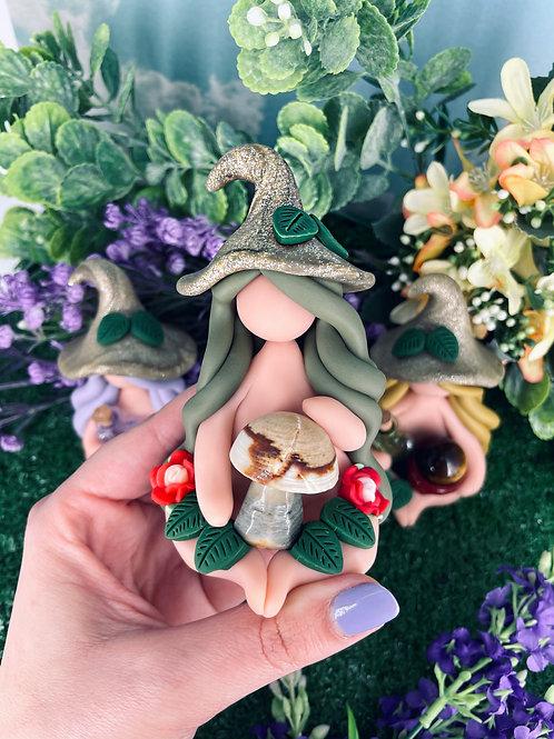 Jasper Mushroom Garden Witch