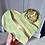 Thumbnail: Tea Green Citrine Crystal Heart Plaque