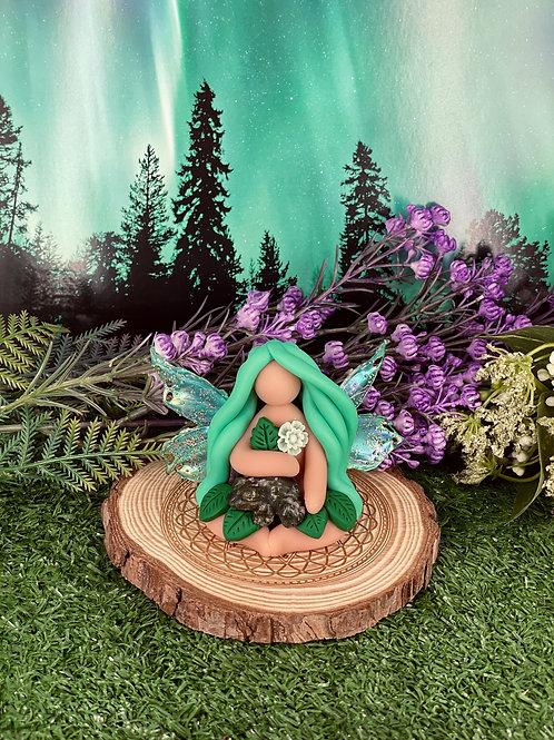 Mini Jasper Frog Fairy