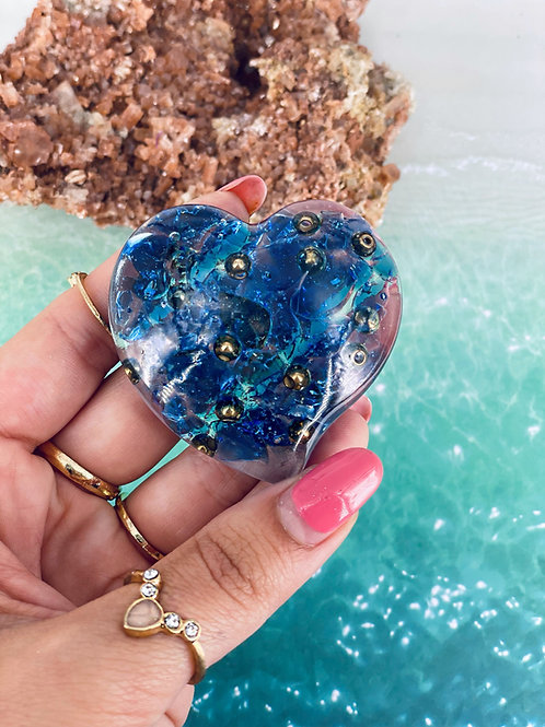 Aquamarine Palm Heart