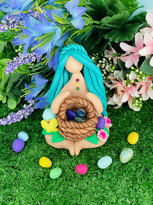 7 Chakra Crystal Hunter Goddess - Easter Collection