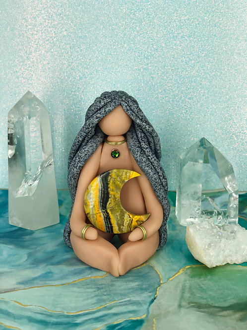 Freya - Jasper Moon Goddess