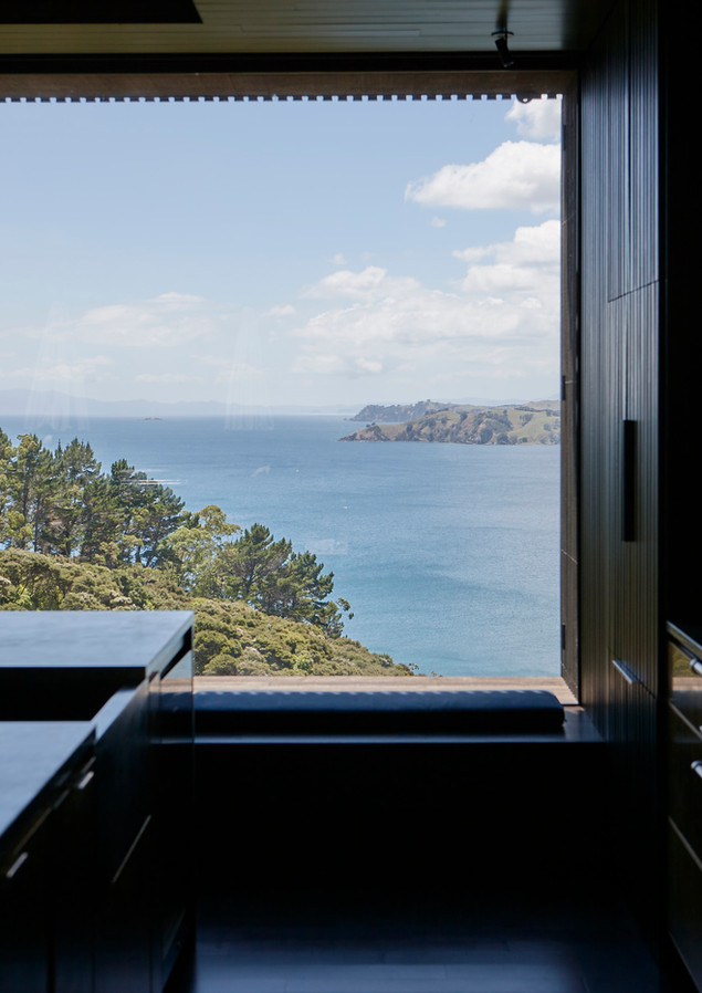waiheke island lantern house holiday rental accomodation - sea view nature ocean