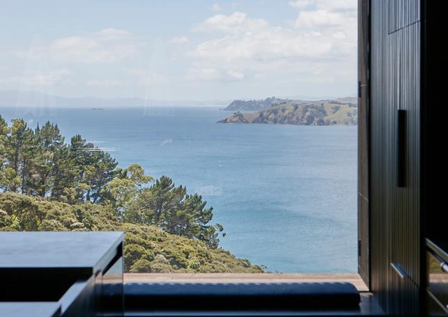 waiheke island lantern house holiday rental accomodation - sea view nature ocean