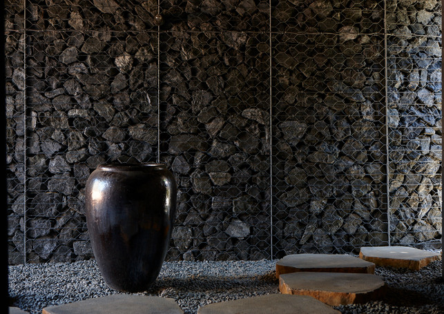 waiheke island lantern house holiday rental accomodation - pot eastern inspired design asian