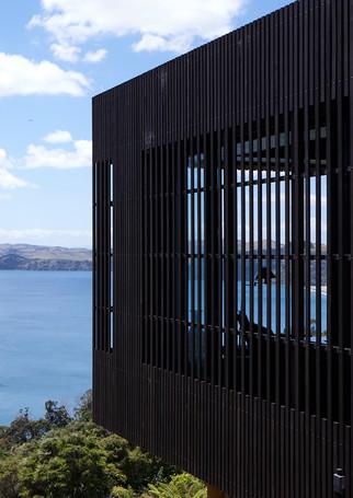 waiheke island lantern house holiday rental accomodation - sea view onetangi bay beach new zealand ocean house
