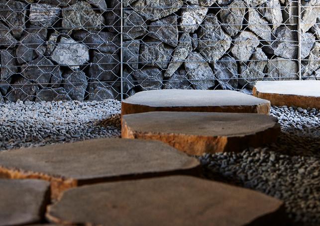 waiheke island lantern house holiday rental accomodation - marble granite design herbst architects