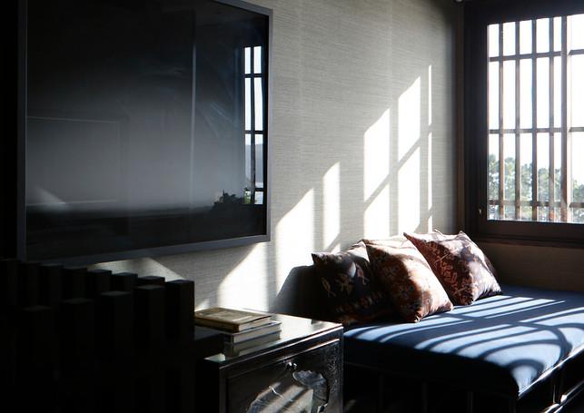 waiheke island lantern house holiday rental accomodation - bedroom design new zealand