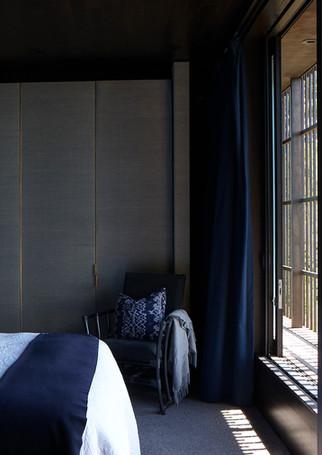 waiheke island lantern house holiday rental accomodation - super king sized bed interior design eastern asian inspired