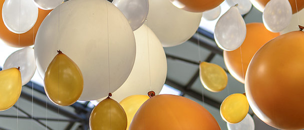 Latex Balloons with Helium