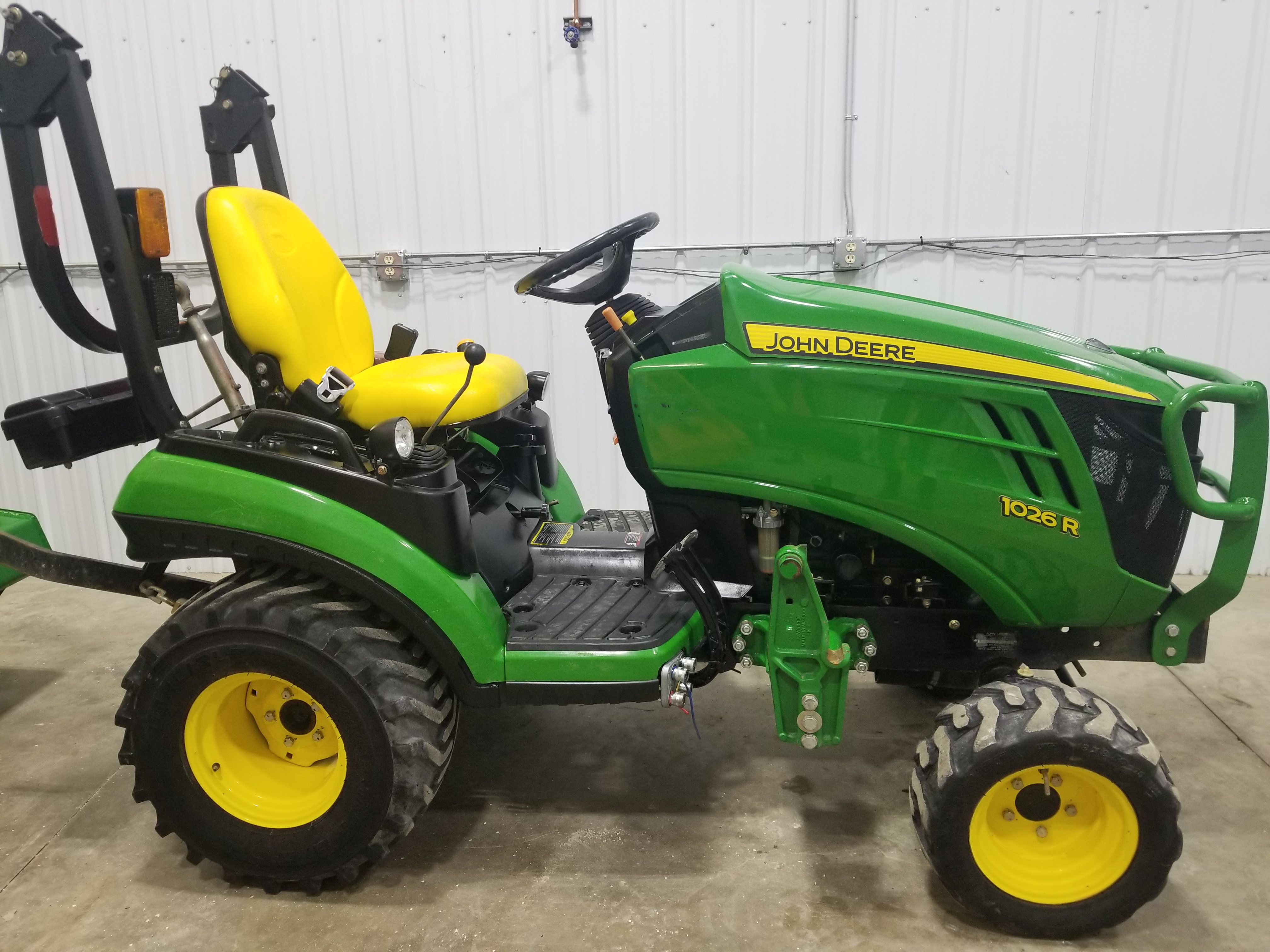 Compact Utility Tractor