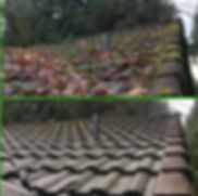 Cement tile before after