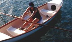 Marsha in Rowboat