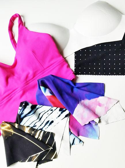 Guely Ray activewear fabrics