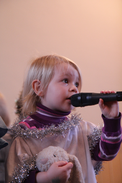 Solo at the Nativity