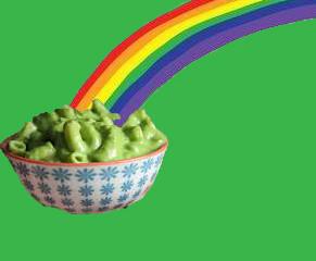 Macaroni: Green as the Emerald Isle!