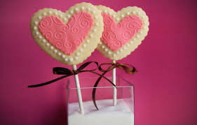 What's Cookin' Wednesday: Valentine's Day Cookie Pops