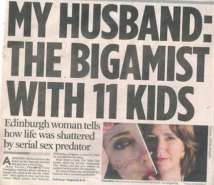 My Husband: The Bigmist with 11 kids - newspaper clipping