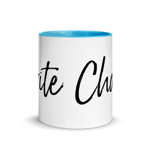 'Write Choice' Mug with Color Inside