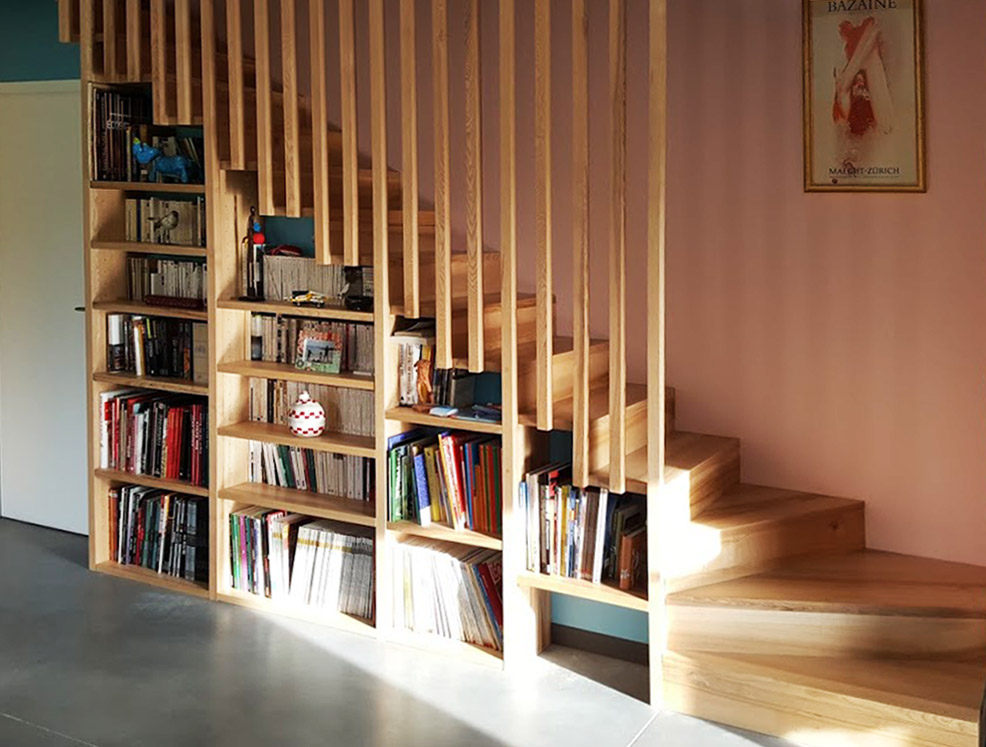 escalier_bibliothèque