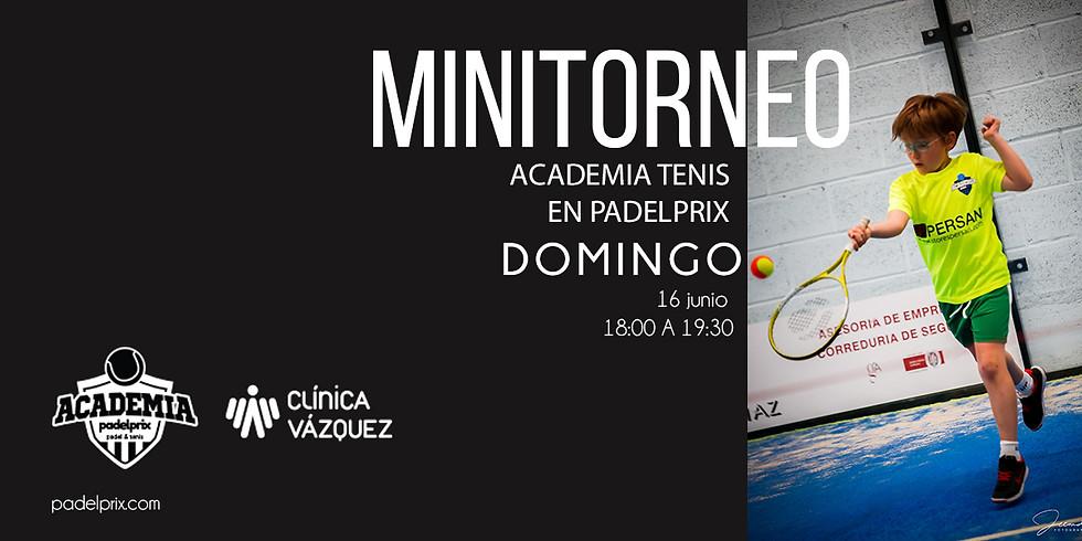 Minitorneo Tenis y Pádel Finde Curso
