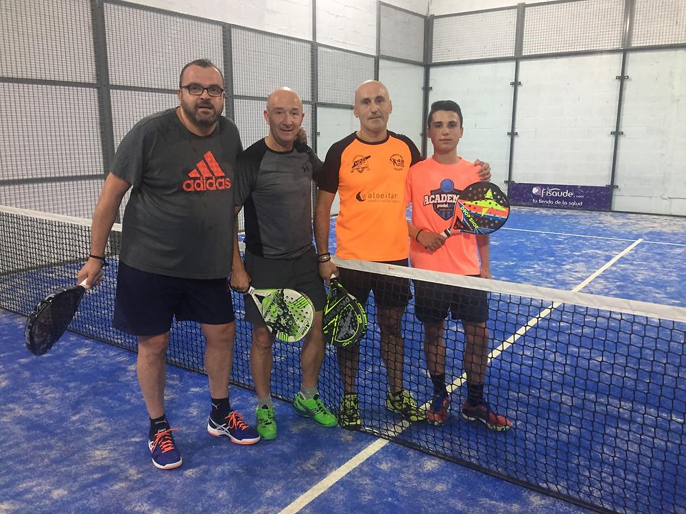 Dani, Antonio Toti y David