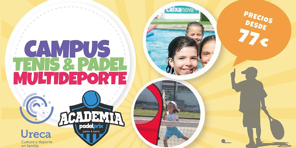 Campus Verano Tenis y Pádel