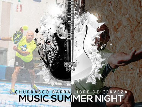 MUSIC SUMMER NIGHT PADEL+CROSSFIT