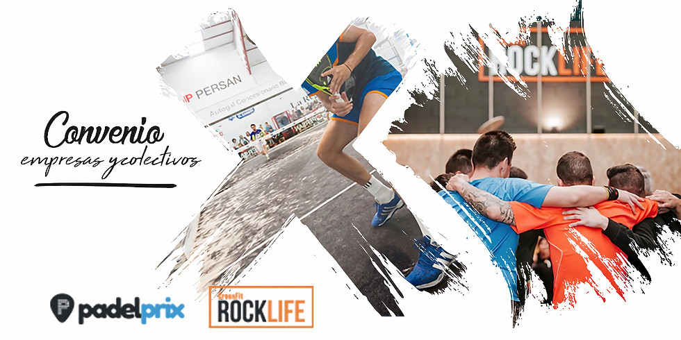 Convenio Empresas Padelprix-Rocklife