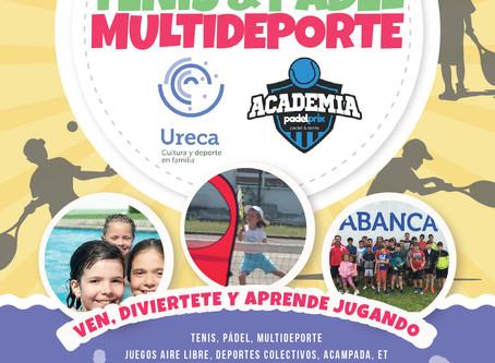 Campus Multideporte Verano 19' Academia Padelprix Clínica-Vázquez