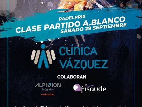 Adrián Blanco Antelo impartirá el sábado clases partido