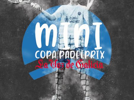 Llega para los más jóvenes, la Mini Copa Padelprix - La Voz de Galicia