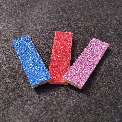 12mm x 42mm glitter diffuser pads
