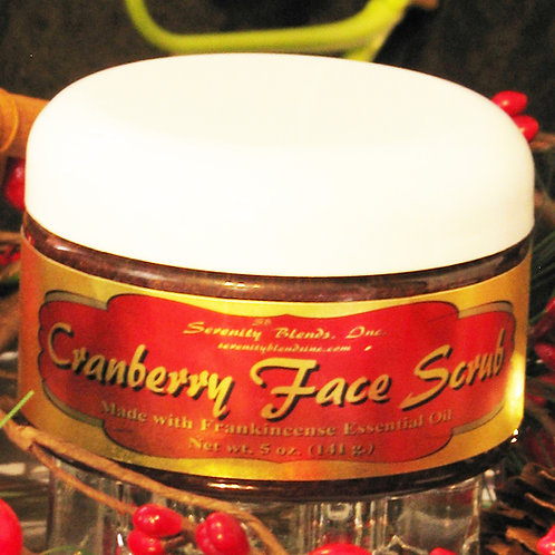 Cranberry Face Scrub 5 oz.