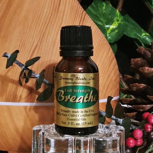 Breathe Full Strength 15 ml bottle
