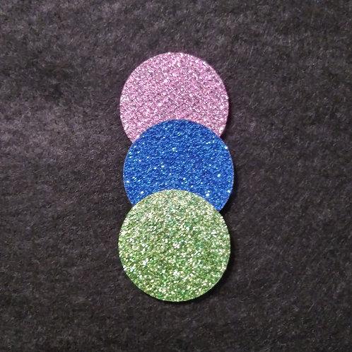 28 mm glitter diffuser pads
