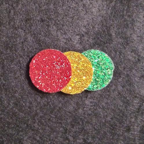 18mm dia. glitter diffuser pads