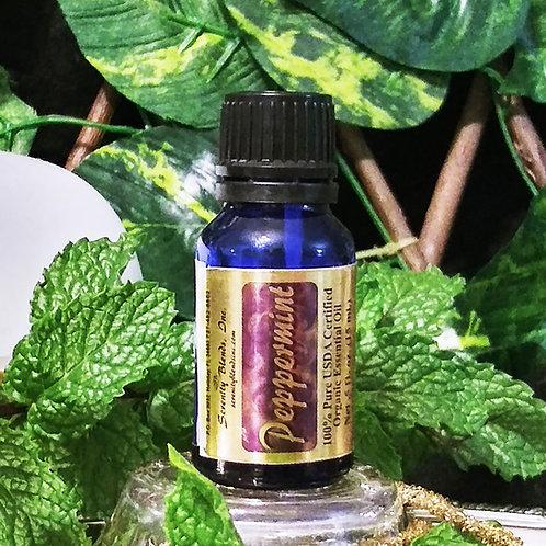 Peppermint Essential Oil 15 ml. bottle
