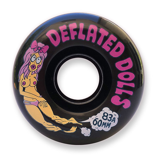 Haze Wheels - Deflated Dolls II - 60mm - 83A