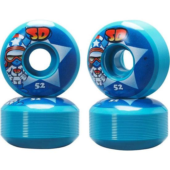 Speed Demons - Wheels blue Stars - 52mm