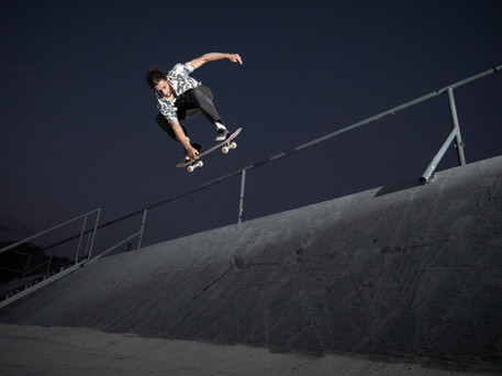 Photography: Christos Yiannaki  Location: Larnaca, Cyprus  Story: Tasos Panayi treat this fresh bank spot like it's a quarter pipe, with his BS Air!